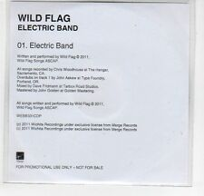 (EF485) Wild Flag, Electric Band - 2011 DJ CD