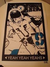 "Yeah Yeah Yeahs 17""x26"" band poster print"