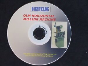 GENUINE HERCUS DVD ON HOW TO OPERATE A HERCUS MILLING MACHINE AND ATTACHMENTS