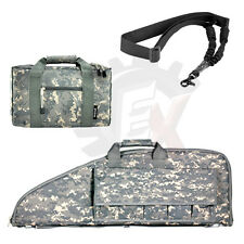 "NcSTAR 38"" Digital ACU Hunting Pistol Rifle Gun Carrying Bag Case Sling Combo"