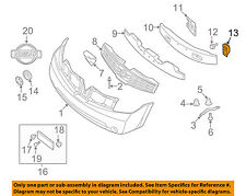 NISSAN OEM 04-09 Quest Front Bumper-Stay Clip 622287Y000
