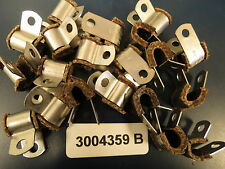 """Stainless Hi-Temp Loop 3004359B Clamps for 3/16"""" to 1/4"""" or 5/15"""" /Lines (20)"""