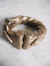 Bracelet amulette en bronze ASHANTI ART TRIBAL AFRICAIN ARTE AFRICANO 9cm
