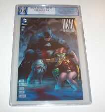 Dark Knight III: The Master Race #1 - PGX NM/MT 9.8 - Jim Lee 1:500 variant