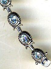 "Topaz Statement Natural 7 - 7.49"" Fine Gemstone Bracelets"
