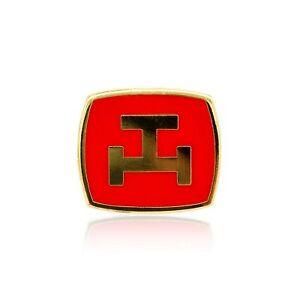 Masonic Revival Royal Arch Lapel Pin (Red)
