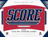 2018 Score Football Insert Cards GOLD Pick From List (All Sets Included)
