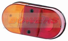 BRITAX PMG 9020 OVAL REAR STOP/TAIL/IND LIGHT LAMP IFOR WILLIAMS TRAILER AS MP36