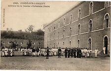 CPA CONDE - sur - L'ESCAUT .- Interieur de la caserne d'infanterie  (190675)