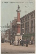London, High Street Kensington, Queen Victoria Memorial, Voisey Postcard B765