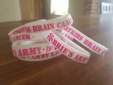 Charity Abbie's Army Wristband