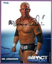Mr. Kennedy Anderson Authentic Autographed 8x10 Wrestling Photo - WWE / TNA