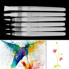 Set of 6 Refillable Pilot Water Brush Ink Pen for Paint Calligraphy Watercolor
