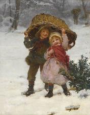 Morgan Frederick Yuletide Canvas 16 x 20  #5109