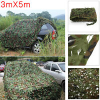 Jungle Filet de Forêt hide militaire Camouflage net 3mx5m Chasse Camping