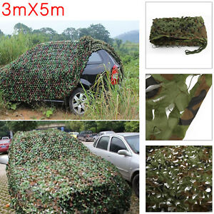 Jungle Filet de Forêt hide Militaire Camouflage Net 3Mx5M Chasse Camping FR