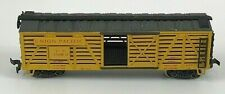 AHM Tempo 47630 HO Scale Union Pacific Sliding Door Stock Cattle Car COMPLETE