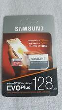 128-GB Samsung EVO Plus Micro SD Karte SDXC UHS-1 Card inkl. SD Adapter-NEU! OVP