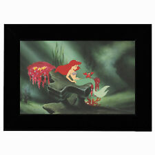 More details for official disney licensed collectable with frame wall art nursery little mermaid
