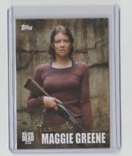 The Walking Dead Season 5 2016 Characters Trading Card #C-06 Maggie Greene