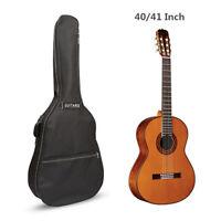 """40"""" 41"""" Acoustic Guitar Bag Double Straps Soft Case Backpack Gig Bag Holder New"""