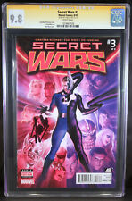 SECRET WARS #3 CGC 9.8 SS BY STAN LEE NM/MT WP ALEX ROSS COVER RIBIC Thanos Thor