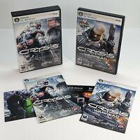 Lot of 3 | Crysis | Crysis Warhead | Crysis Wars | PC