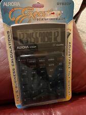Aurora Desktop Series Financial Calculator Dt920P Tax & Business Calculations