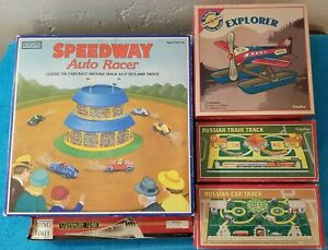 Lot Of 5 Schylling Windup Toy With Original Box's and keys EUC