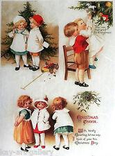Rice Decoupage Paper / Decoupage Sheets  / Scrapbooking / Vintage Child 1