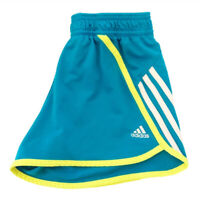 Adidas Womens Running Shorts Work Out Active Blue Yellow Size Small