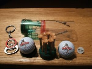 "Vintage Top Flite""Bubba Gump"" Golf Balls & Bubba Gump Key Chain/Bottle Opener"