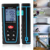 Waterproof Handheld Digital Laser Point Measure Distance Meter Tape Range Finder