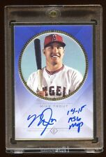 MIKE TROUT TOPPS TRANSCENDENT AUTO /10 *14-15 ASG MVP* GOLD FRAME  $52K A SET !