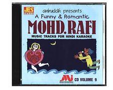 Hindi Karaoke CD A Funny & Romantic Mohd Rafi vol 9 Aniruddh Mohammed Rafi Music