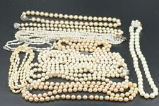 Perlenkette Konvolut Süßwasser Orient Akoya SW ZP Gewicht ca. 378g Silber 925