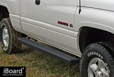 "iBoard Side Steps Nerf Bars 4"" Black Fit 94-01 Dodge Ram 1500/2500/3500 Club Cab"