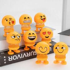 Baby Toys Funny Shaking Head Car Decoration Creative Emoji Toys Cute Doll