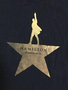 Hamilton Broadway the musical original T shirt size M