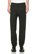 Helmut Lang Men's Gusset Trouser Grosgrain Suiting Pants in Black 33x32 NWT $395