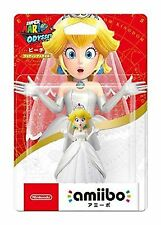 Nintendo Amiibo Super Mario Odyssey Peach Wedding Style 3ds Wii Switch