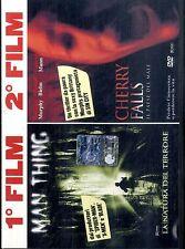 MAN THING + CHERRY FALLS DVD FILM Eccellenti Condizioni Edit.