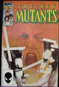 NEW MUTANTS 26 MARVEL COMIC 1ST APPEARANCE LEGION CLAREMONT WEIN 1985 VF/NM