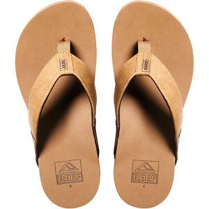 Reef Mens Newport Holiday Beach Summer Pool Sandals Thongs Flip Flops - Bronze