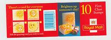 Gb folleto de sellos 1995 Hd De 23 X 10 1st Class Thorntons Chocolate