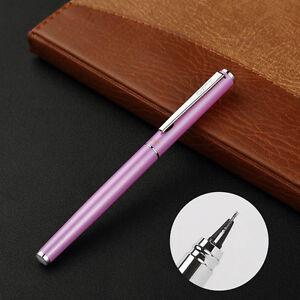 Paint Hero 360 Degree Writing Metal Fountain Pen Fine Nib 0.5mm Students Gift #9