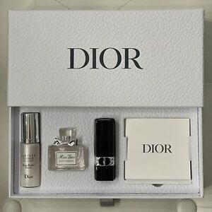 DIOR Gift Set Perfume Miss DiorEDP 5ml Dior Rouge Lipstick Capture Totale Serum
