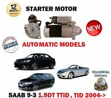 pour SAAB 9-3 1.9 TID TTID YS3F + Cabriolet 2006- > Neuf Démarreur du moteur