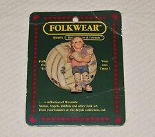 Boyds Bears & Friends Folkwear Collection Resin Pin - 1995 Soccer Ball Girl