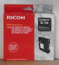 ORIGINAL Ricoh GC 21k pression cartouche BLACK GX 7000 5050n 3050sfn 3050n 3000 2500